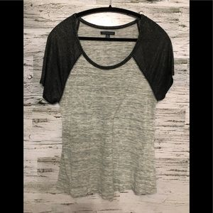 American Eagle Outfitters tee with metallic sheen